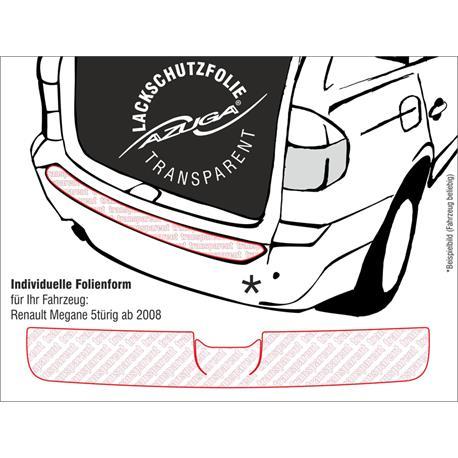 Lackschutzfolie Ladekantenschutz für Renault Twingo II ab 9/2007-8/2014 (farblos)