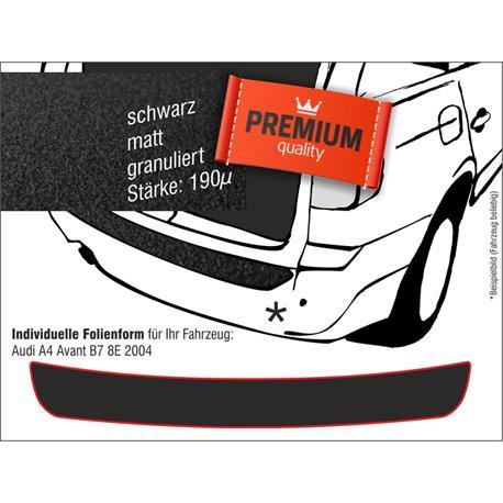 Lackschutzfolie Ladekantenschutz für Audi A4 Avant (B7/8E) ab 2004 (schwarz)