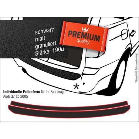 Lackschutzfolie Ladekantenschutz für Audi Q7 ab 2006-5/2015 (schwarz)