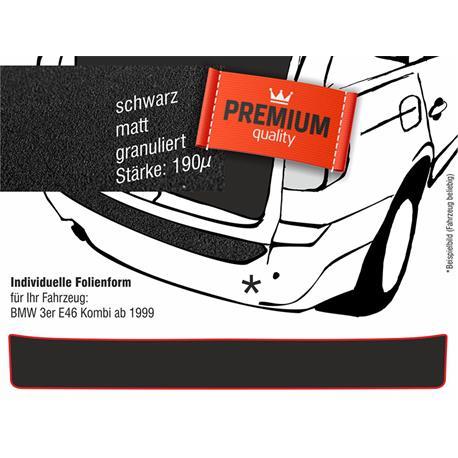 Lackschutzfolie Ladekantenschutz für BMW 3er E46 Touring ab 1999 (schwarz)