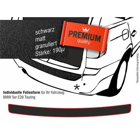 Lackschutzfolie Ladekantenschutz für BMW 5er E39 Touring (schwarz)