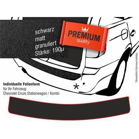 Lackschutzfolie Ladekantenschutz für Chevrolet Cruze SW Kombi (schwarz)