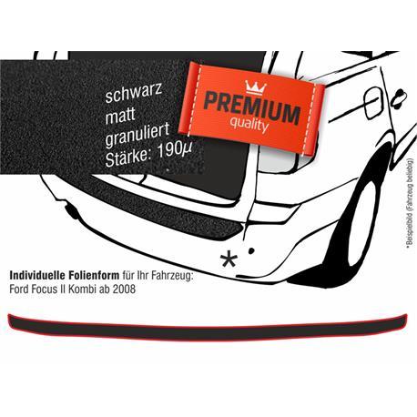 Lackschutzfolie Ladekantenschutz für Ford Focus II Kombi ab 2008 (schwarz)