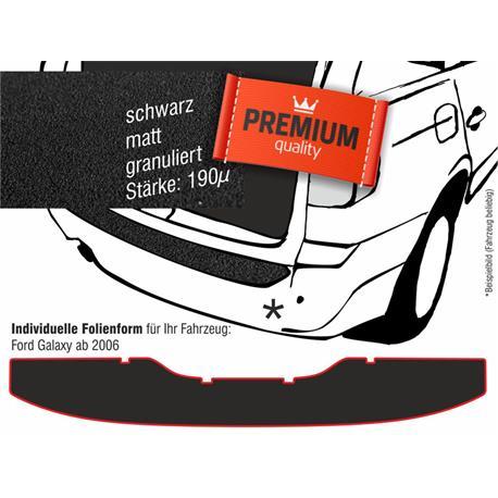 Lackschutzfolie Ladekantenschutz für Ford Galaxy ab 5/2006-8/2015 (schwarz)