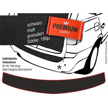 Lackschutzfolie Ladekantenschutz für Opel Insignia Sports Tourer ab 2009 (schwarz)