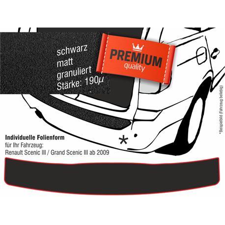 Lackschutzfolie Ladekantenschutz für Renault Scenic/Grand Scenic 3 (schwarz)