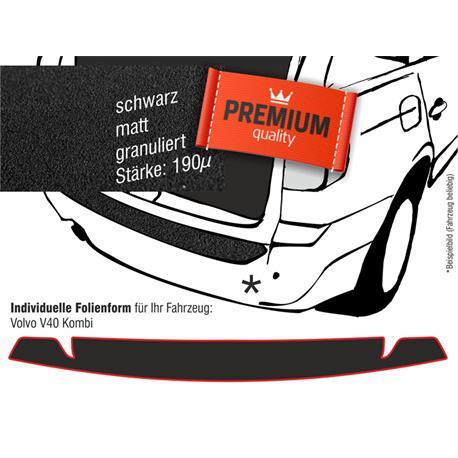 Lackschutzfolie Ladekantenschutz für Volvo V40 Kombi 1996-2005 (schwarz)