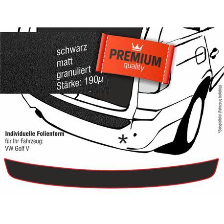 Lackschutzfolie Ladekantenschutz für VW Golf 5 (schwarz)