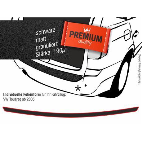 Lackschutzfolie Ladekantenschutz für VW Touareg 2005-3/2010 (schwarz)