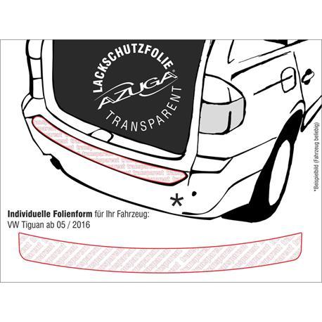 Lackschutzfolie Ladekantenschutz für VW Tiguan ab 2016 (farblos)