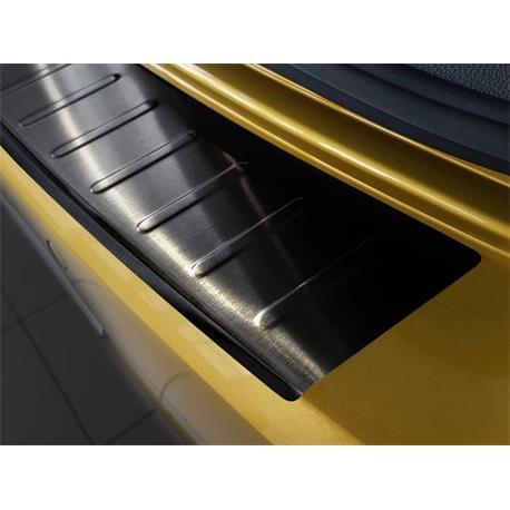 Ladekantenschutz Edelstahl für VW Golf 7 ab 11/2012 (schwarz)