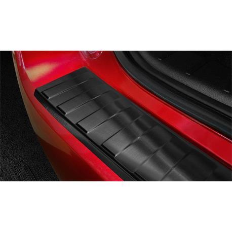 Ladekantenschutz Edelstahl für Mitsubishi ASX ab 9/2019 (3. Facelift) (schwarz)