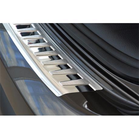 Ladekantenschutz Edelstahl für Nissan Qashqai ab 2/2014-7/2017