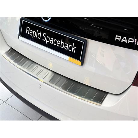Ladekantenschutz Edelstahl für Skoda Rapid Spaceback ab 2013