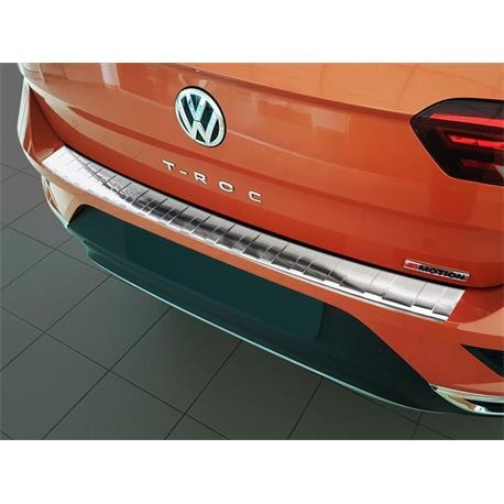 Ladekantenschutz Edelstahl für VW T-Roc ab 2017