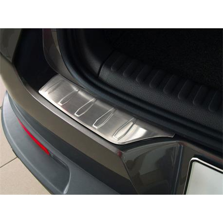 Ladekantenschutz Edelstahl für VW Tiguan ab 2007