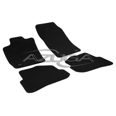Auto Fußmatten Velours für Audi A1 ab 2010/A1 Sportback ab 2012-10/2018