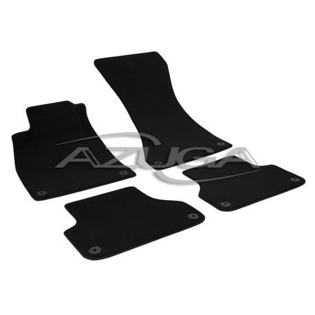 Auto Fußmatten Velours für Audi A4 ab 2015 (8W/B9)