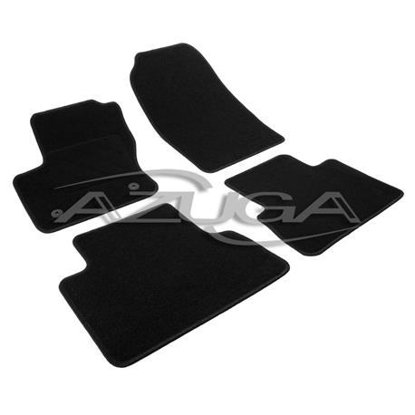 Textil-Fußmatten für Ford C-Max/Grand C-Max ab 2012 (runde Befestigung)