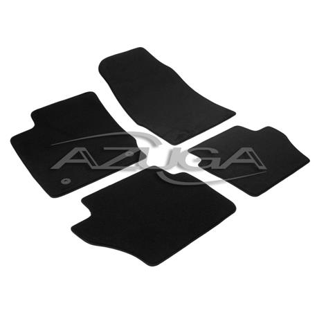 Auto Fußmatten Velours für Ford Fiesta ab 2008