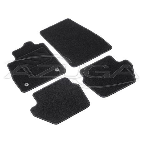 Textil-Fußmatten für Ford Fiesta ab 7/2017
