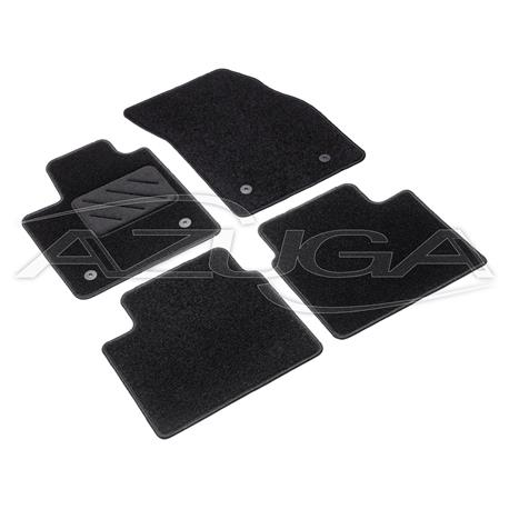 Textil-Fußmatten für Ford Focus ab 9/2018