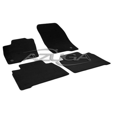 Auto Fußmatten Velours für Ford Galaxy/S-Max ab 9/2015
