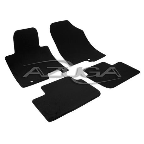 Auto Fußmatten Velours für Kia Ceed II ab 2012
