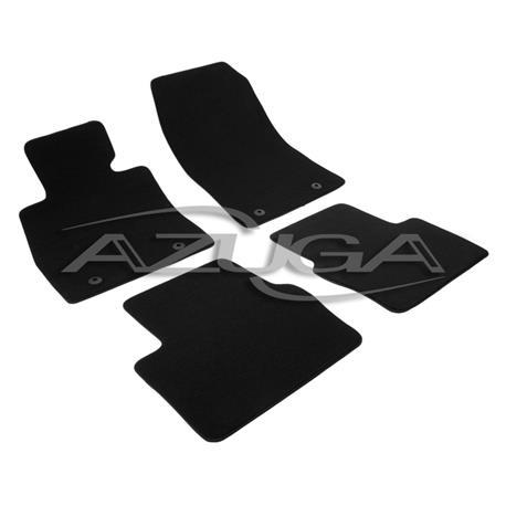 Auto Fußmatten Velours für Mazda 2 ab 2015