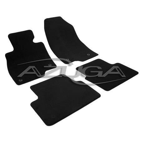 Auto Fußmatten Velours für Mazda 3 ab 10/2013-3/2019 (BM/BN)