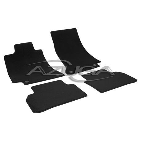 Auto Fußmatten Velours für Mercedes C-Klasse W205/S205 ab 2014