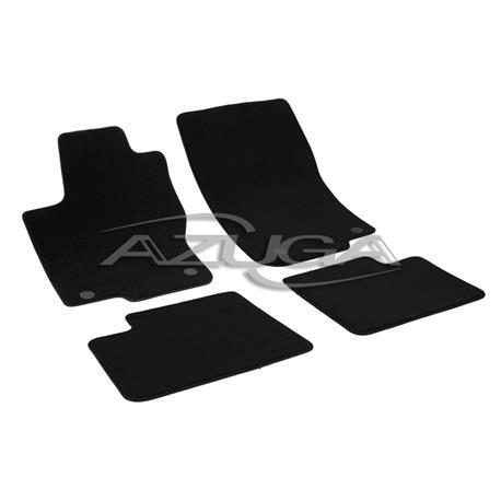 Auto Fußmatten Velours für Mercedes ML W166 ab 2011/GLE ab 2015-1/2019