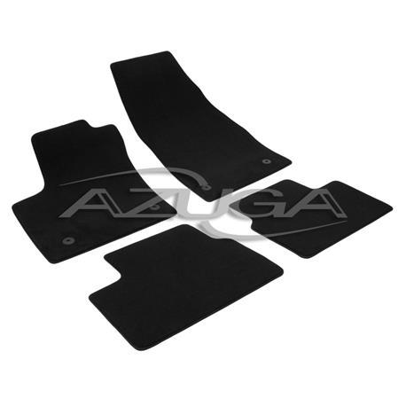 Auto Fußmatten Velours für Opel Meriva B ab 2010