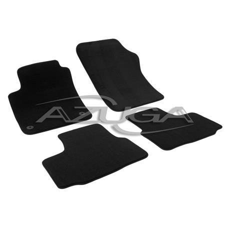 Auto Fußmatten Velours für Seat Mii/Skoda Citigo/VW Up ab 2011
