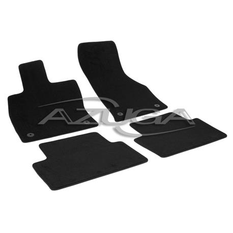 Auto Fußmatten Velours für Skoda Octavia III ab 2013 (5E)