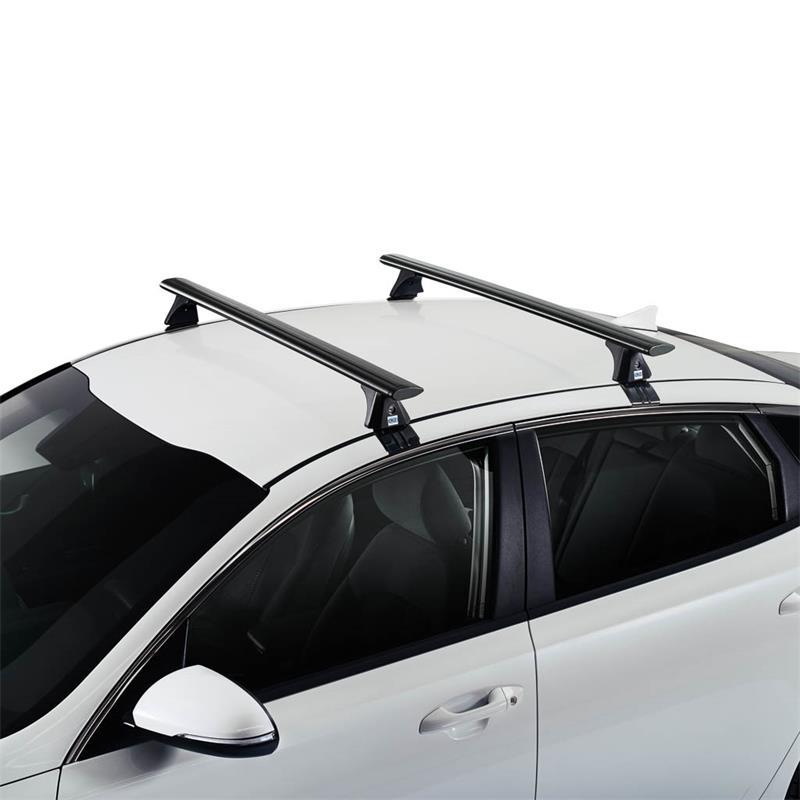Dachträger Airo Aluminium Dark für Kia Niro ab 2016