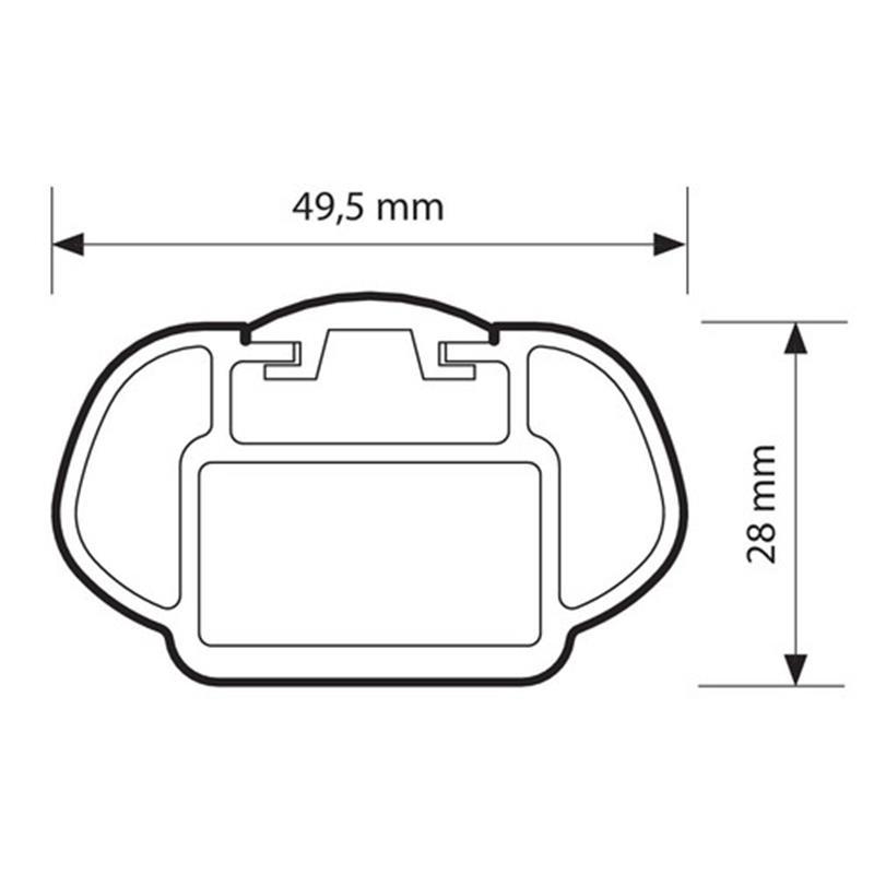 Dachträger für Hyundai i30 ab 3/2012 (GD)/ab 2017 (PD) aus Aluminium