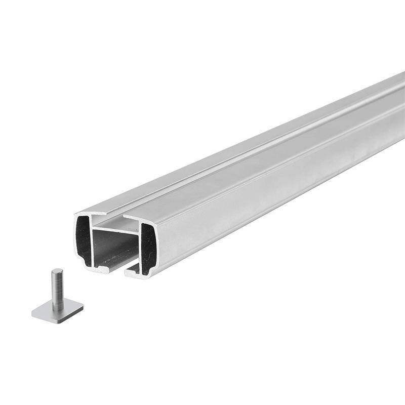 Dachträger Nordrive Yuro L aus Aluminium Relingträger 127 cm
