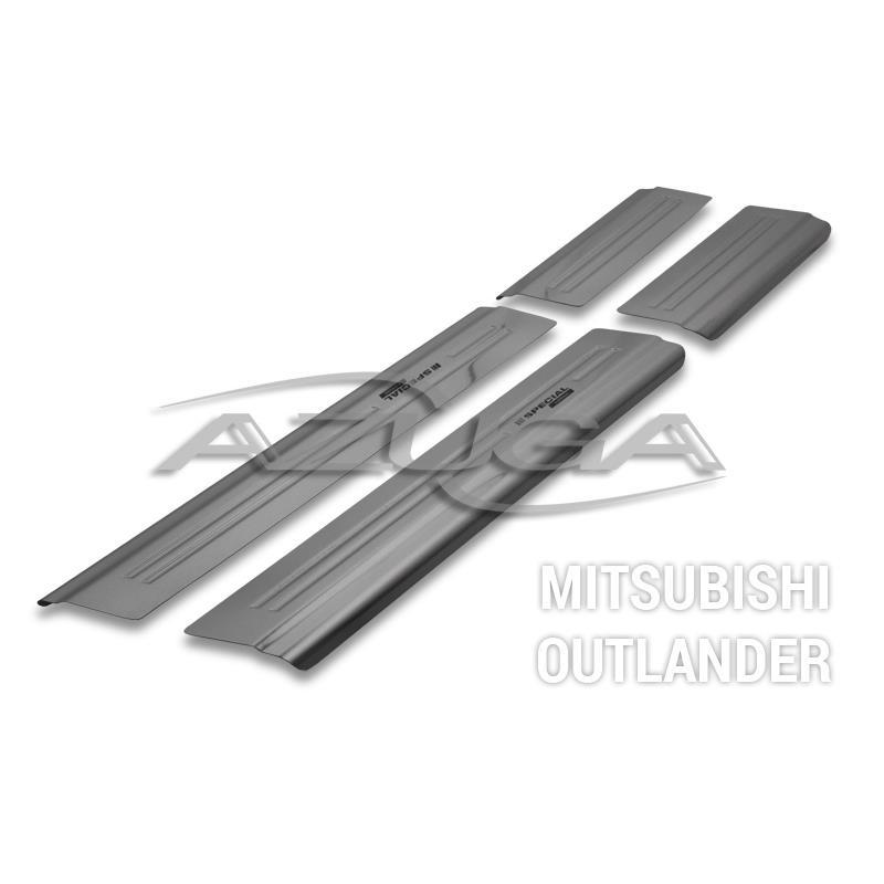 Einstiegsleisten aus Edelstahl für Mitsubishi Outlander ab 2012