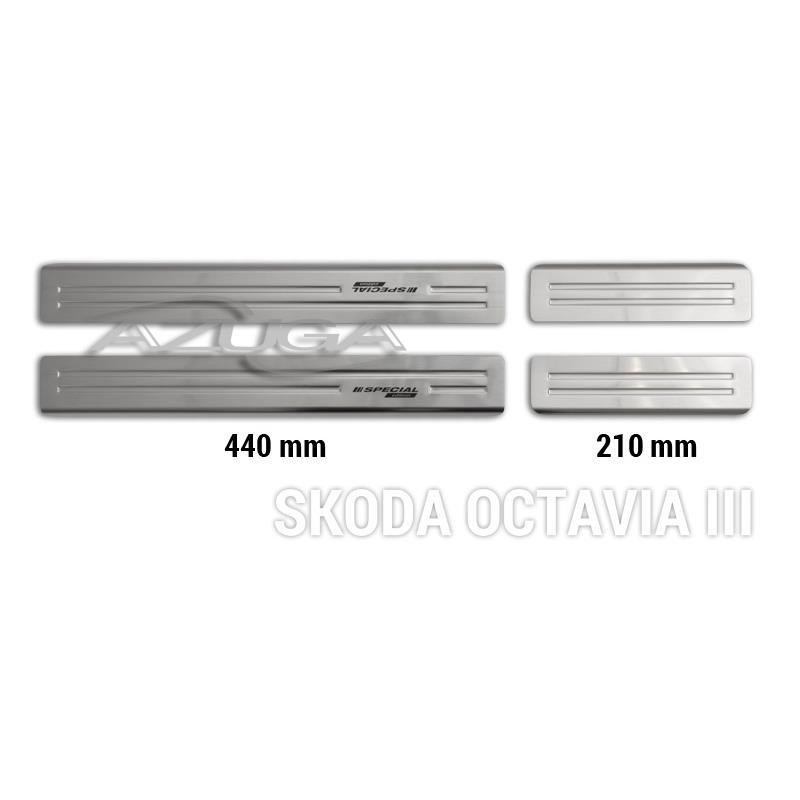 Einstiegsleisten aus Edelstahl für Skoda Octavia III/Skoda Octavia III Combi ab 2013