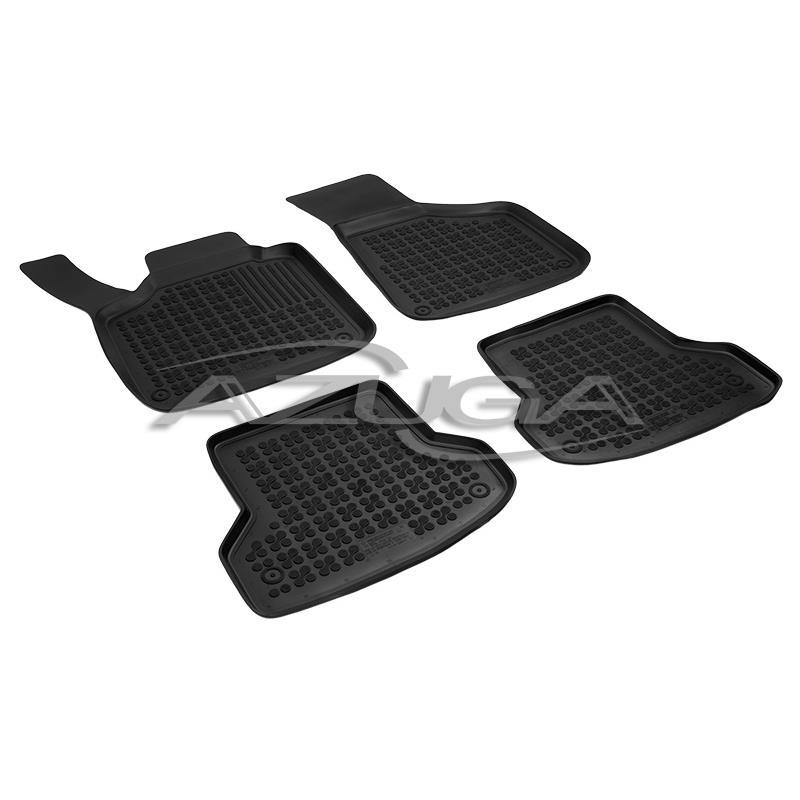 Hohe Gummi-Fußmatten für Audi A3/A3 Sportback ab 2003 (8P/8PA) 4-tlg.
