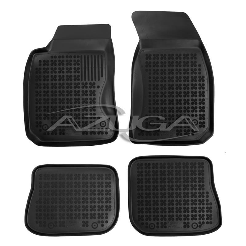 Hohe Gummi-Fußmatten für Audi A4 (B5) ab 1995-2001