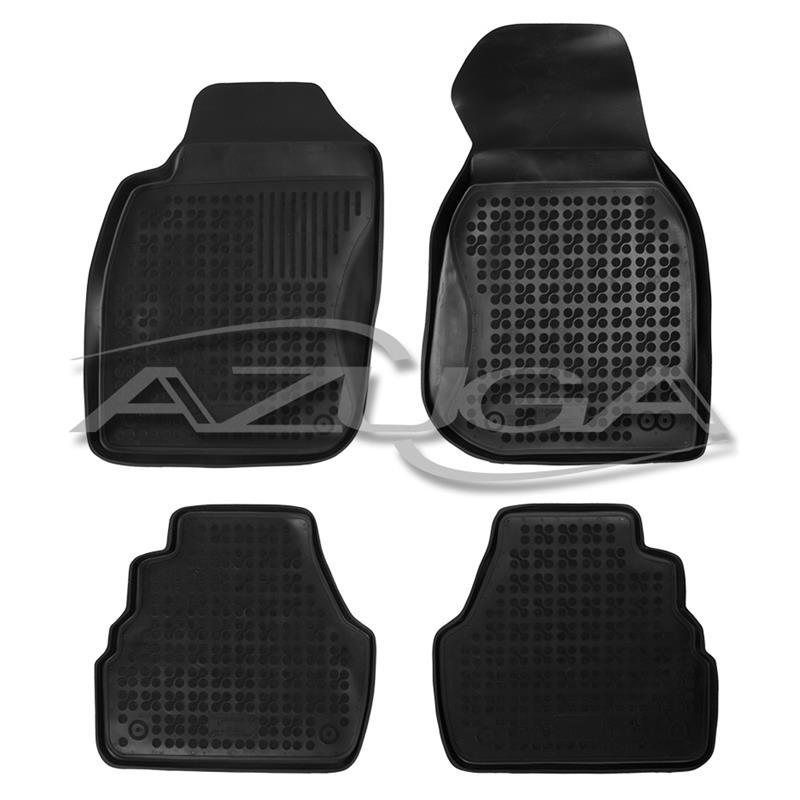 Hohe Gummi-Fußmatten für Audi A6 (4B) ab 1997 4-tlg.