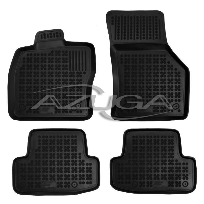 Hohe Gummi-Fußmatten für Audi Q2 ab 2016 ab 2017 4-tlg.