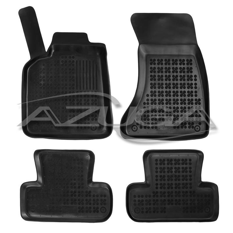 Hohe Gummi-Fußmatten für Audi Q5 4-tlg.