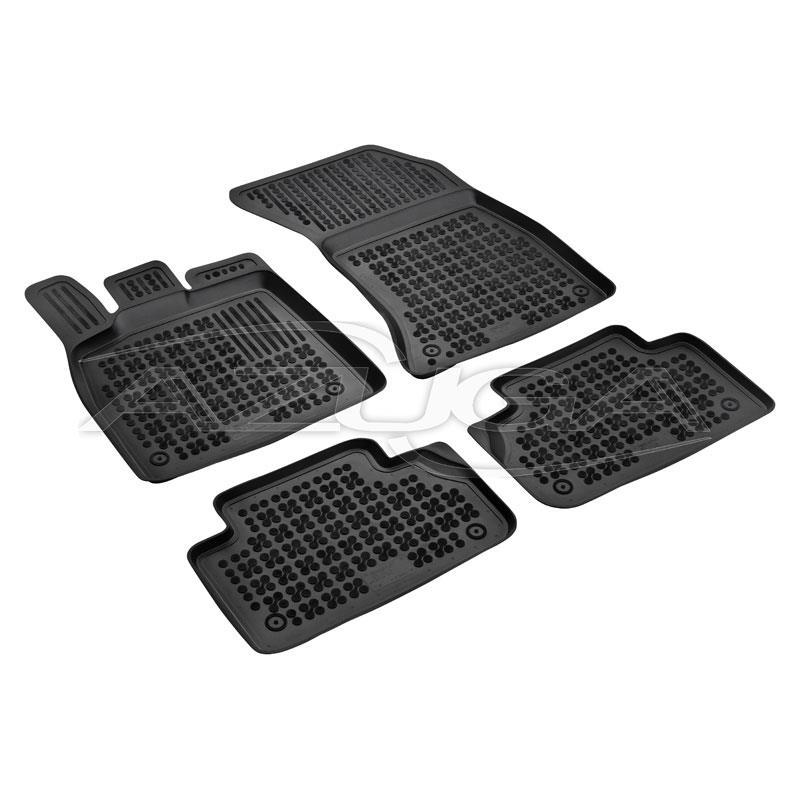 Hohe Gummi-Fußmatten für Audi Q5 ab 10/2016