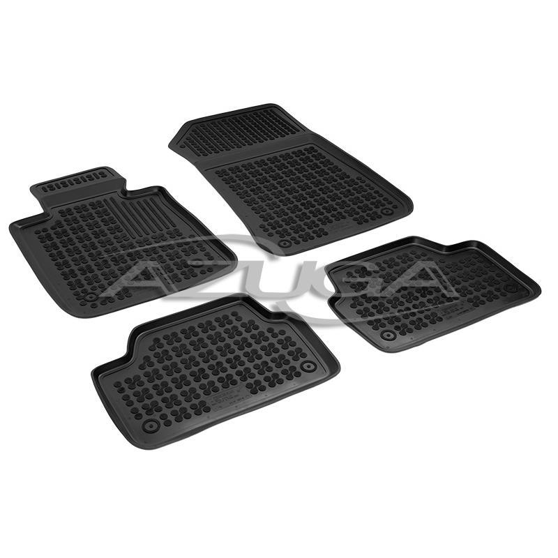 Hohe Gummi-Fußmatten für BMW 1er (3-/5-türer) 4-tlg.