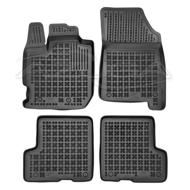 II Matten Autoteppiche Passform Fußmatten Set für Dacia Duster 2 ab 2018