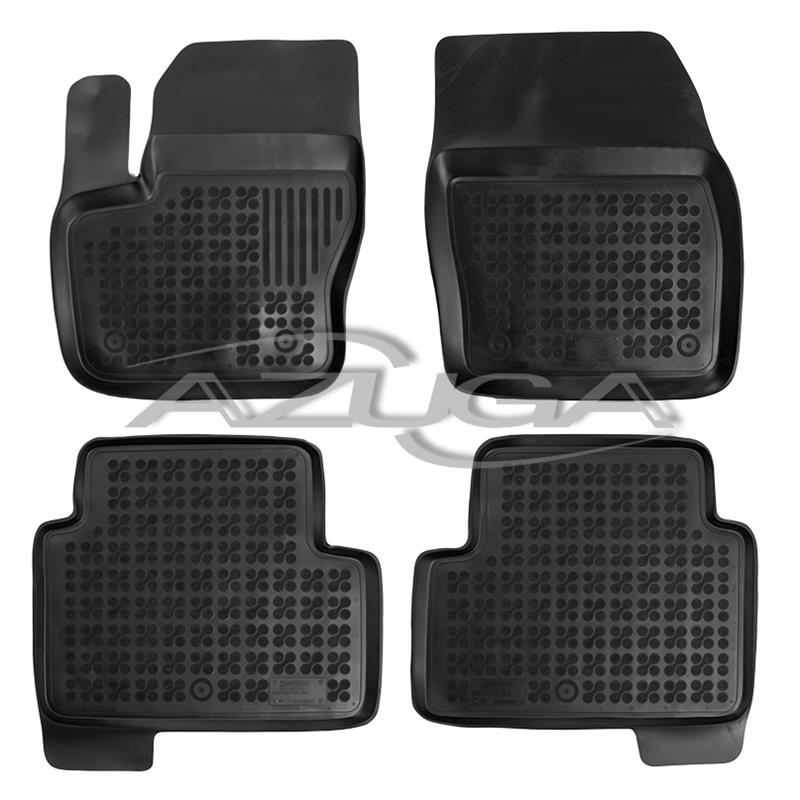 hohe gummi fu matten f r ford kuga ab 3 2013 4 tlg azuga. Black Bedroom Furniture Sets. Home Design Ideas