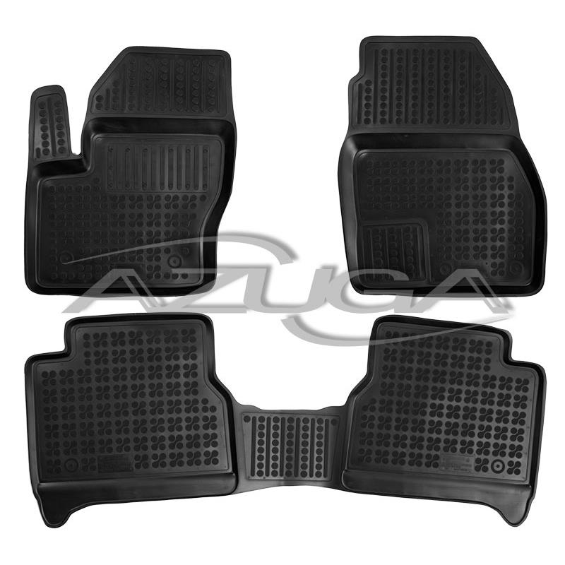 3D Gummi-Fußmatten für Opel Corsa D 10//2006-11//2014 Hohe Gummimatten Automatten